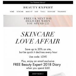 [Beauty Expert] Skincare Love Affair | Save Up To 20% Inside + Free Gift