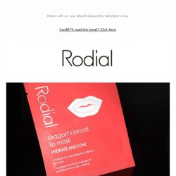 [RODIAL] 3 Steps To Irresistibly Kissable Lips