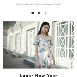 [MDS] Lunar New Year Last Launch.