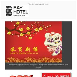 [Bay Hotel] Happy Lunar New Year from all of us
