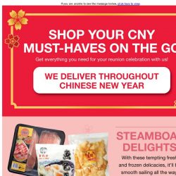 [Fairprice] Shop your CNY must-haves on the go with us!