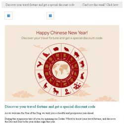 [Cathay Pacific Airways] Start the New Year with our Chinese Zodiac travel fortune and exclusive offer