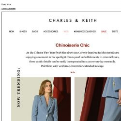 [Charles & Keith] NOW TRENDING: CHINOISERIE CHIC