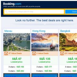 [Booking.com] Macau, Hong Kong, or Bangkok? Get great deals, wherever you want to go