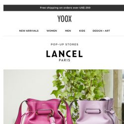 [Yoox] Lancel: the new collection