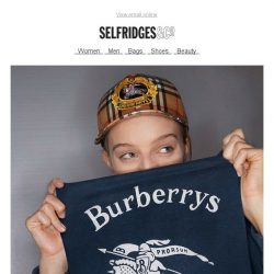 [Selfridges & Co] Burberry, straight from the catwalk
