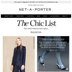 [NET-A-PORTER] Shop the new-season staples you need now