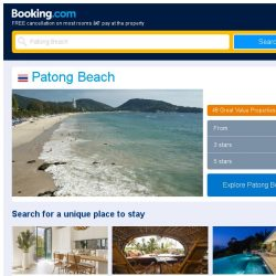 [Booking.com] Prices in Patong Beach are dropping for your dates!