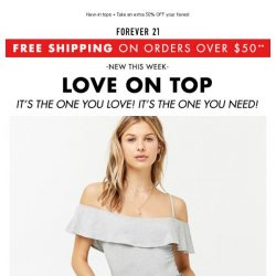 [FOREVER 21] *🎼* LOVE ON TOP! 💗