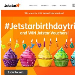 [Jetstar] #jetstarbirthdaytrips and WIN Jetstar vouchers!