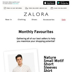 [Zalora] Discover the top-selling styles of the month