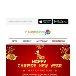 [Floweradvisor] LAST DAY to Enjoy 12% OFF for All CNY Hampers. Grab It Now!