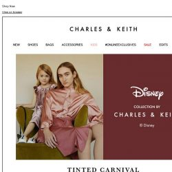 [Charles & Keith] Disney Tsum Tsum Collection by CHARLES & KEITH