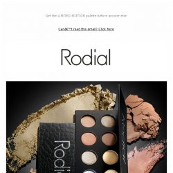 [RODIAL] VIP Exclusive Preview: Our NEW Icons Palette