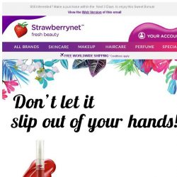 [StrawberryNet] Your next order comes with a Free Gift!