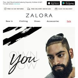 [Zalora] You Own Now: A celebration of all that makes you, you.