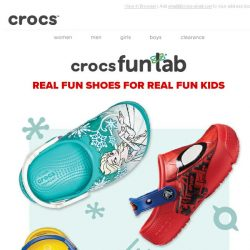 [Crocs Singapore] New Crocs Fun Lab styles: more characters, more colours, more fun!