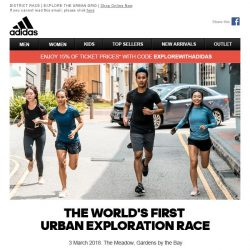 [Adidas] District Race - The World's First Urban Exploration Run