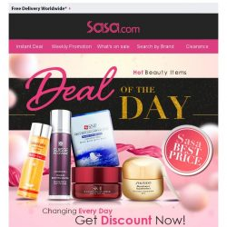 [SaSa ] 【Todays Special】US$8 only! Try on SK-II Facial Treatment Mask!