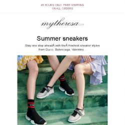 [mytheresa] 48 hours only: free shipping + Step it up in Valentino, Miu Miu, Gucci...