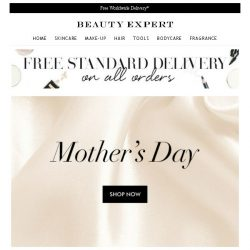 [Beauty Expert] Explore Our Mother's Day Shop Now