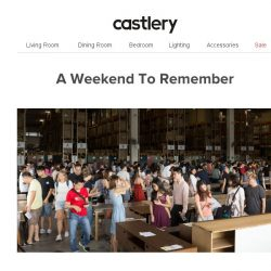 [Castlery] What a turn-out. Thank you for coming down!