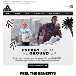 [Adidas] ULTRABOOST - Energy from the Ground Up