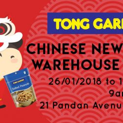 Tong Garden: CNY Warehouse Sale with Great Discounts on Nuts, Dried Fruits, Seeds, Chips & More!