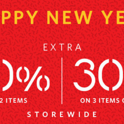 Esprit: CNY Flash Sale with Extra 20% OFF to 30% OFF Regular Priced & Sale Items