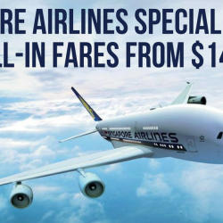 Singapore Airlines: Special 2-To-Go Fares to Over 30 Destinations from $148