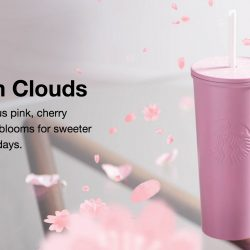 Starbucks: NEW Blossom Clouds Limited Edition Collection