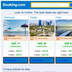 [Booking.com] Seminyak, Osaka, or Kuta? Get great deals, wherever you want to go