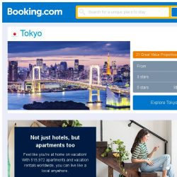 [Booking.com] Prices in Tokyo are dropping for your dates!