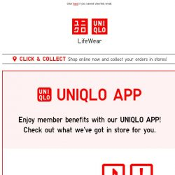 [UNIQLO Singapore] Download. Scan. Win!