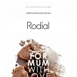 [RODIAL] Mother's Day Gifts: Sorted