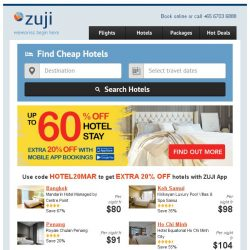 [Zuji] BQ.sg: You've uncovered this 60% OFF Hotels