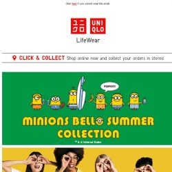 [UNIQLO Singapore] Poopaye! Bello Summer!