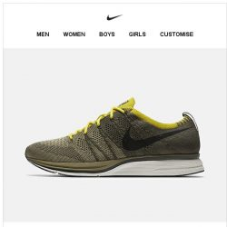 [Nike] Get it Now: Flyknit Trainer 'Olive'
