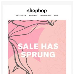 [Shopbop] It's your lucky day: new SALE items