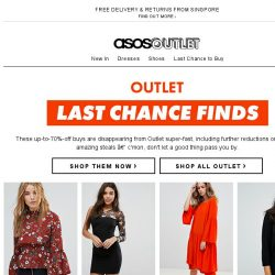 [ASOS] Get them before they go