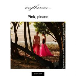 [mytheresa] Thepink edit: discover the colour of the season