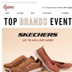 [6pm] Top Brands Event
