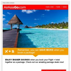 [AirAsiaGo] Planning a trip to Penang? Let us help you.