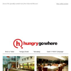 [HungryGoWhere] Indulge in Exclusive Lunch/Dinner Set Menus from $35++ from Gourmet Flavours Festival
