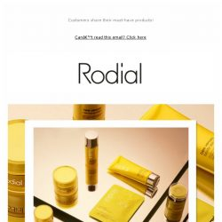 [RODIAL] Rediscover Your Bee Venom Favourites