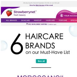 [StrawberryNet] 6 Haircare Brands to Transform Your Hair (and Life!)