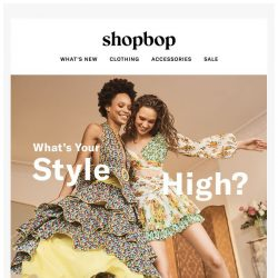 [Shopbop] Introducing Spring 2018: Get your #stylehigh