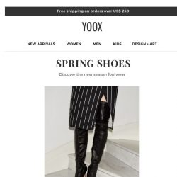 [Yoox] Spring Shoes: discover footwear for the new season