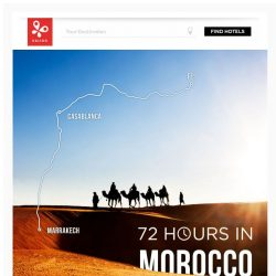 [Kaligo] , book a 72-hours Moroccan getaway and earn up to 10,000 Miles!