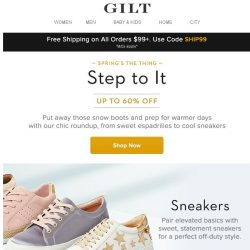[Gilt] Shop Spring Shoes For All 👟👠👞